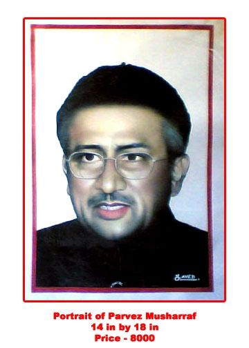 Pervez Musharraf by javed_hashmi742005